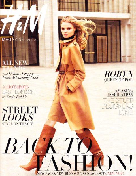 Magdalena Frackowiak Covers H&M Magazine Autumn 2011